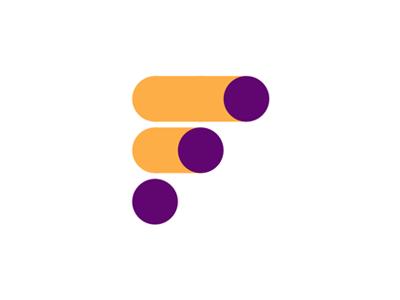 F Letter Toggle Switch Apps Developer Logo Design Logo Design Developer Logo Identity Design Logo