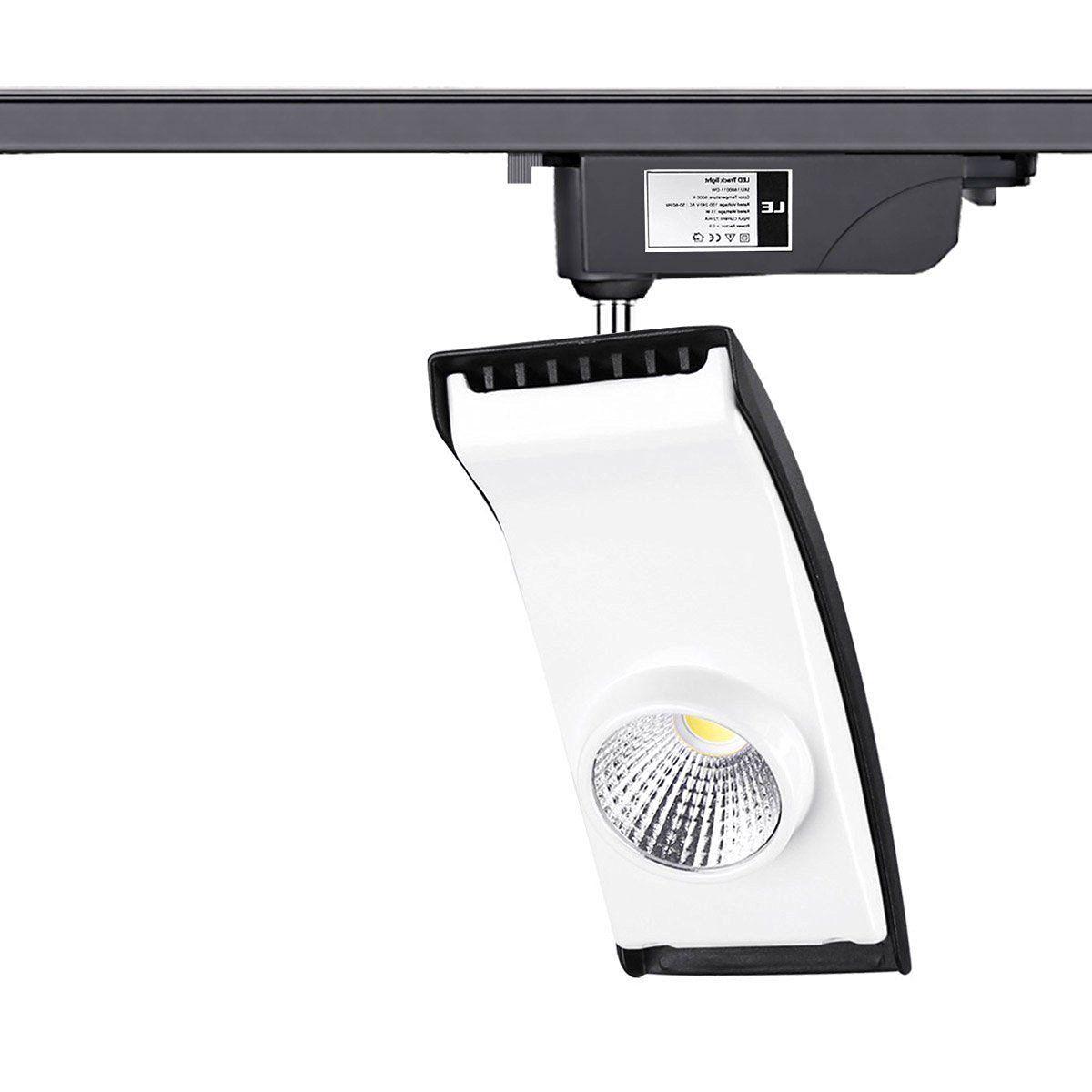LE 15W LED Track Lighting, 100W Halogen Bulbs Equivalent, 850lm, R9>95