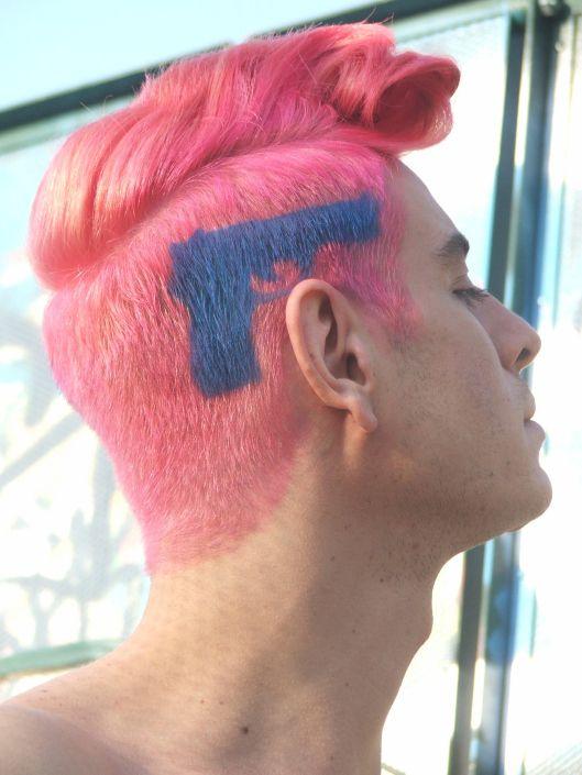 Pin By Shwetha Prem On Ha Hairstyles Men Hair Color Alternative Hair Hair Stenciling