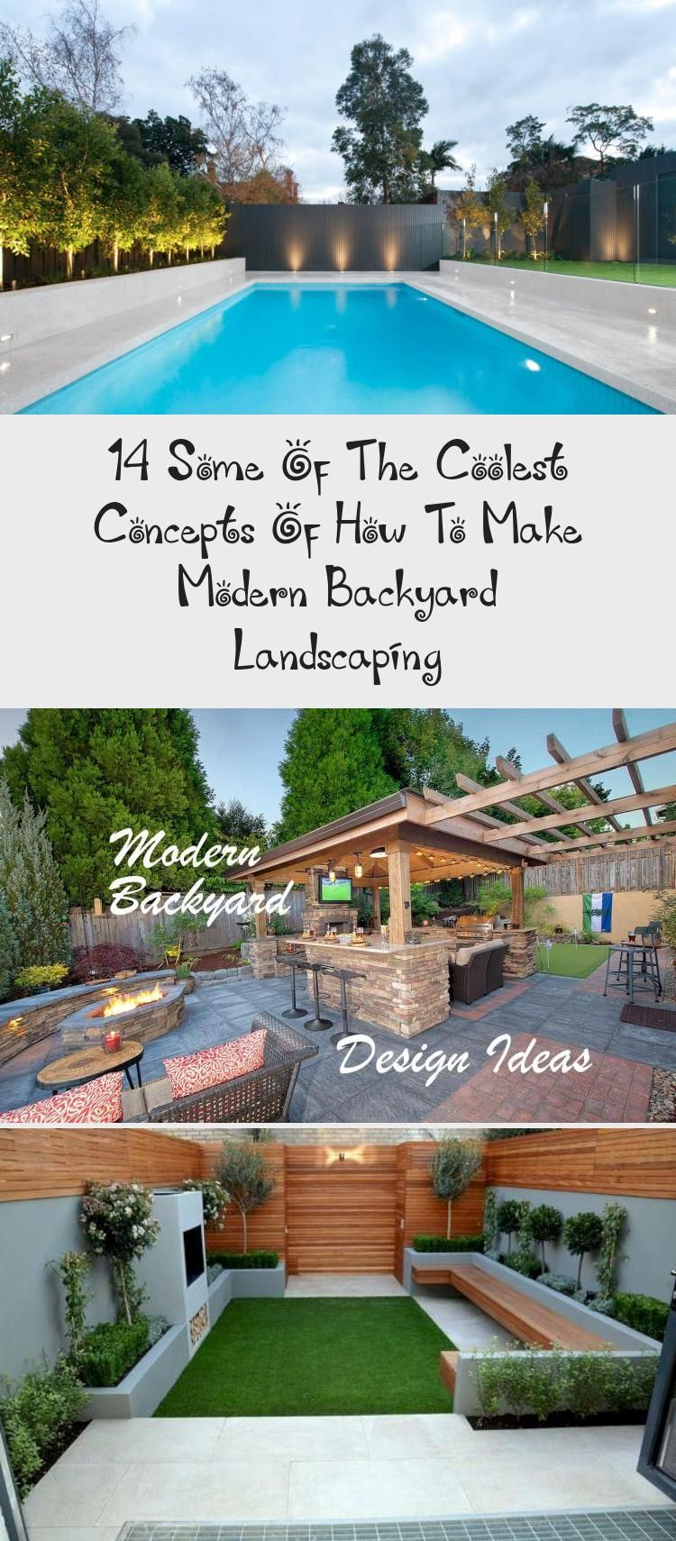 14 Some Of The Coolest Concepts Of How To Make Modern Backyard Landscaping