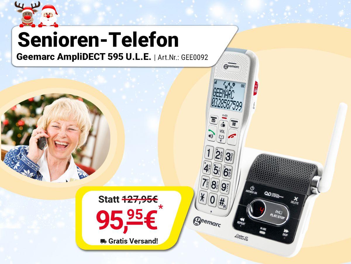 Geemarc Amplidect 595 U L E Senioren Telefon Aktivwelt De Telefon Senioren Kinderspiele