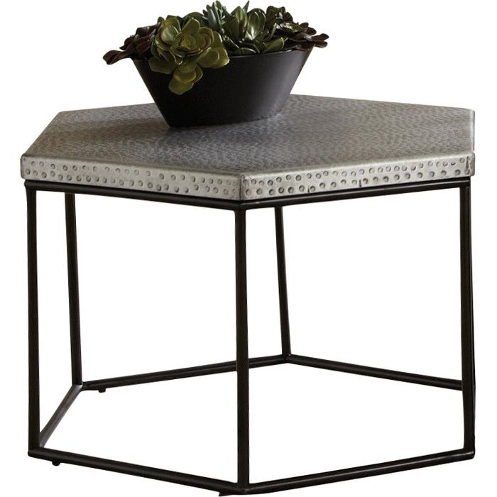 Riverside Furniture Lyric Hexagon Coffee Table U0026 Reviews | AllModern