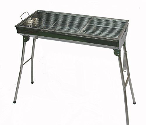 Stainless Steel Portable Folding Charcoal BBQ