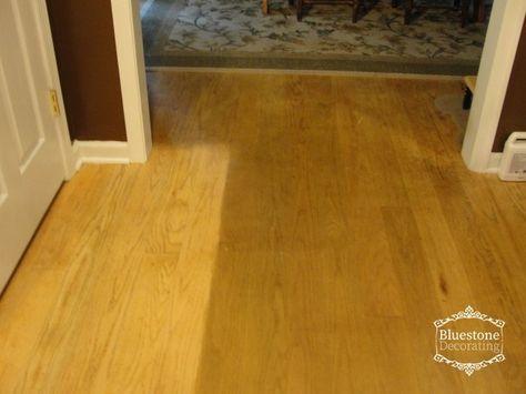Cleaning Old Buildup Products Off Hardwood Floors Bluestone