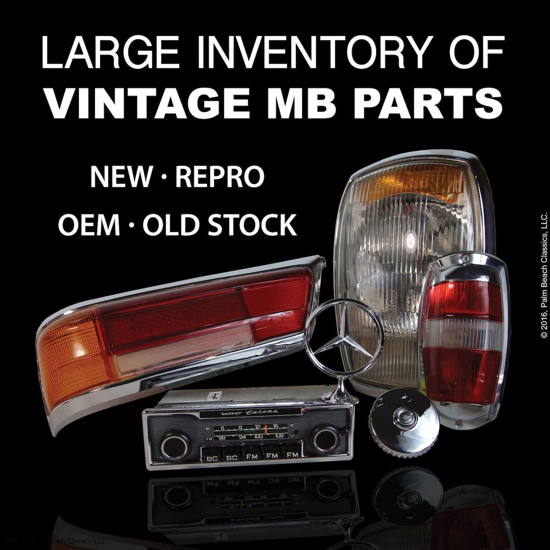 Large Selection of vintage Mercedes-Benz parts - 190SL ...