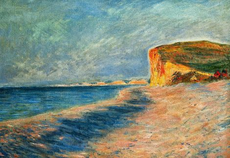 Claude Monet Pourville Near Dieppe 1882 Monet Claude Monet