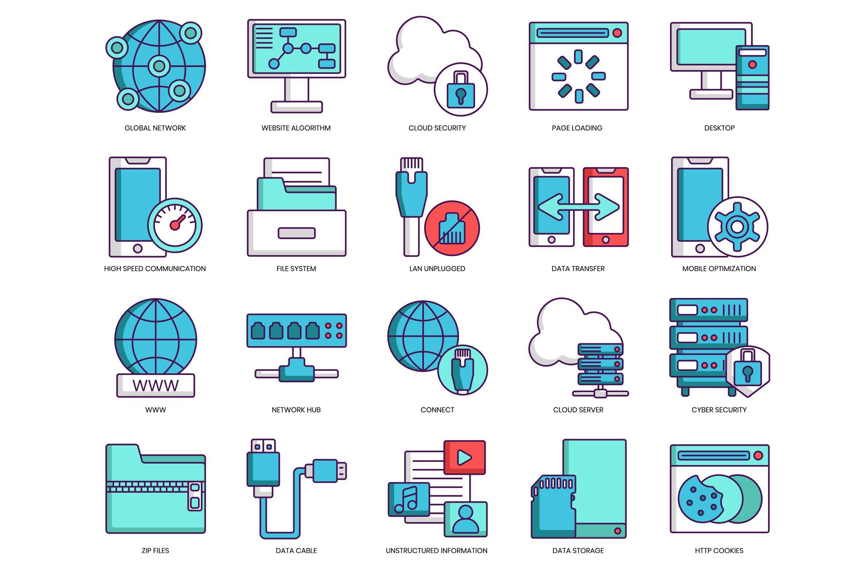 100 Web Hosting Icons Hosting icon, Web hosting, Hosting