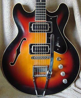 Great Vintage 1969 Framus Caravelle Hollowbody Electric Guitar | eBay