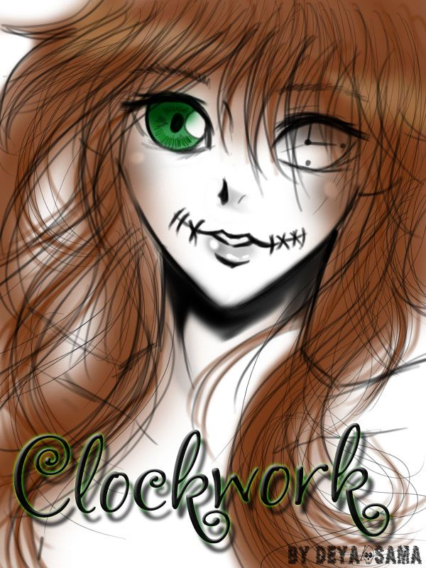 Image result for creepypasta clockwork coloring pages