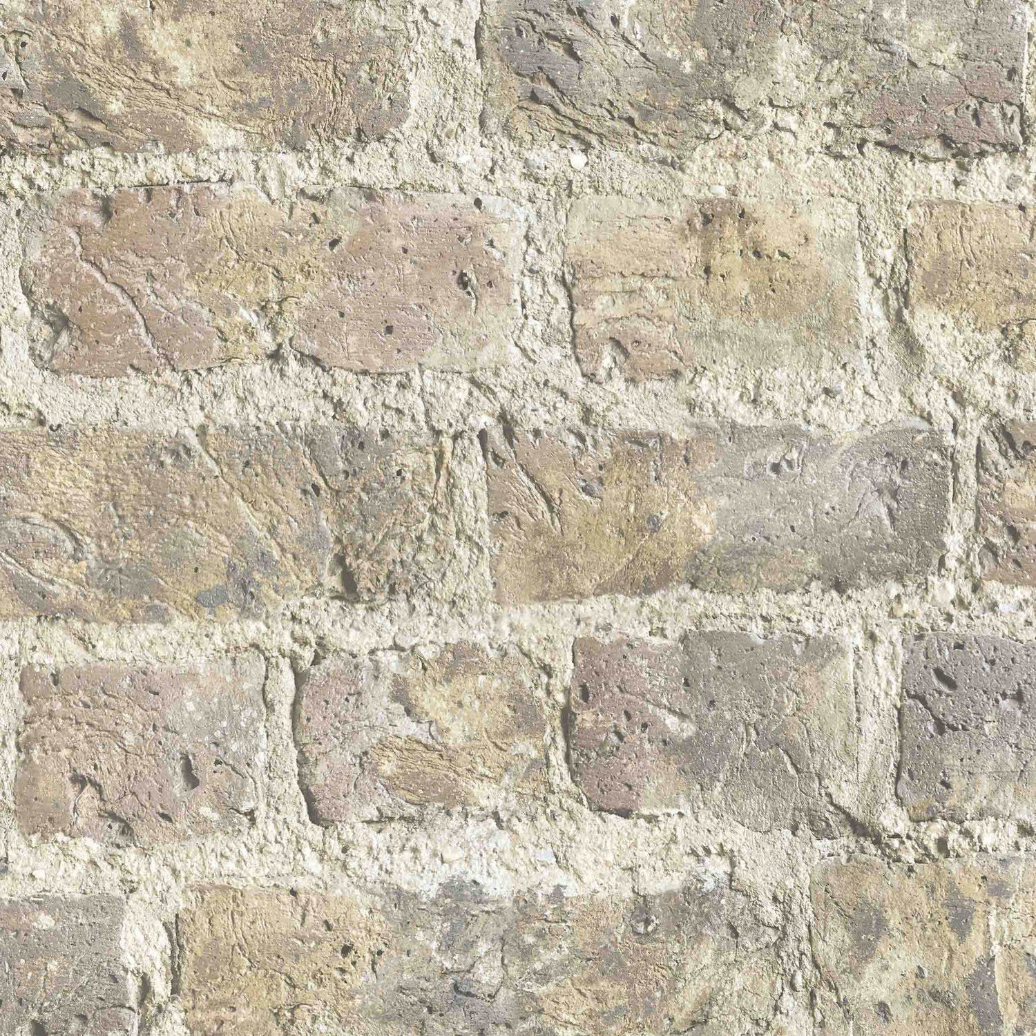 Charcoal Grey Brick Effect Wallpaper (With images) Brick