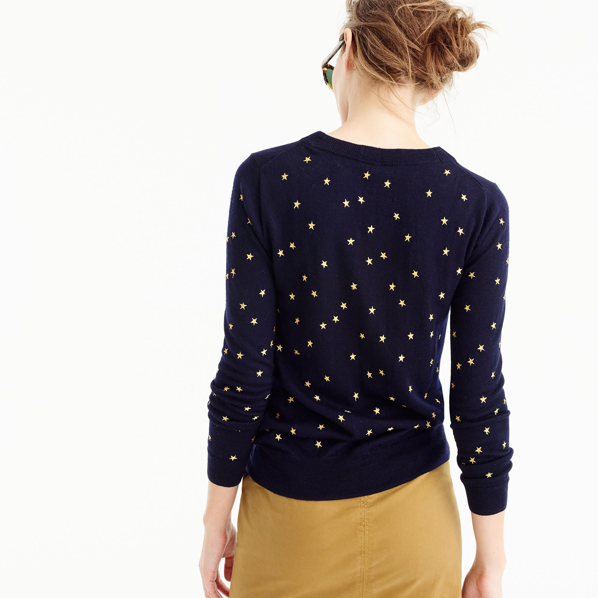 Tippi sweater in embroidered stars | wardrobe | Pinterest ...