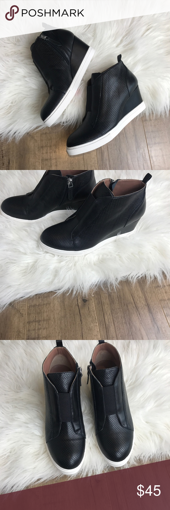 18a0fafad565 Linea Paolo Wedge Sneaker NEW Brand NEW in box Wedge Sneaker Retails for   120 at nordstrom Women s Size 7.5M Linea Paola Shoes Wedges