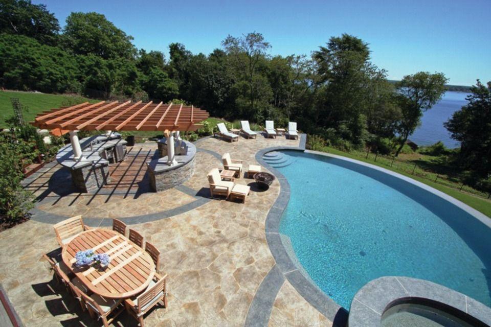 Aménagement jardin avec piscine 75 idées pour su0027inspirer - amenagement jardin avec spa