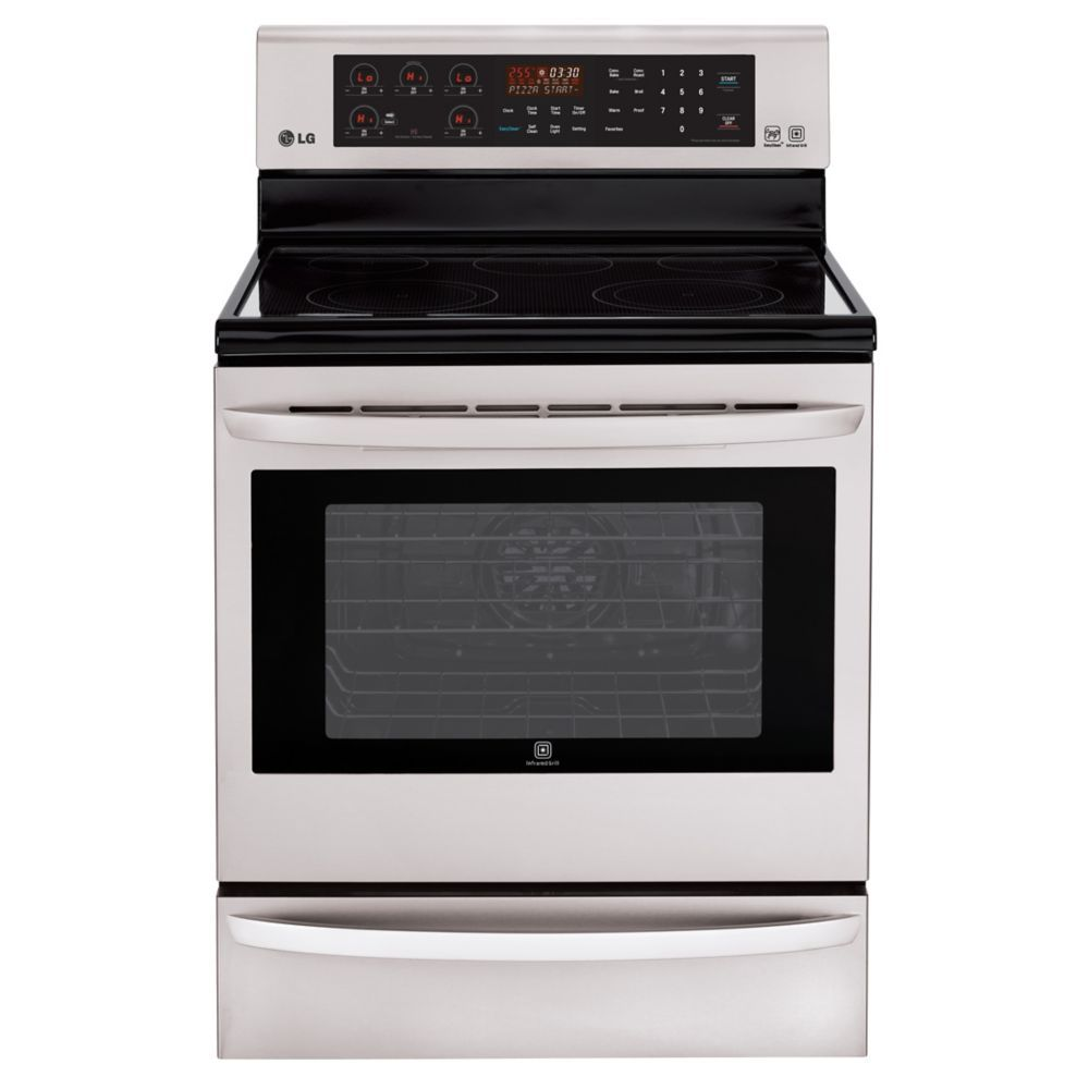 6 3 cu ft electric range with infrared grill and true convection rh pinterest co uk Gas Stove Installation lg gas range installation manual