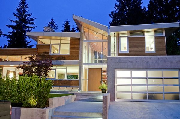 Marvelous Forest House By Garret Cord Werner, Vancouver, Canada.