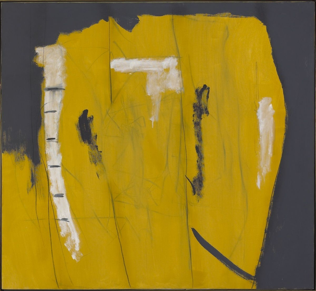 Appetite for Art: Wall with Graffiti (1950) by Robert Motherwell ...