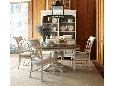 Weatherford Round Table And Four Chairs
