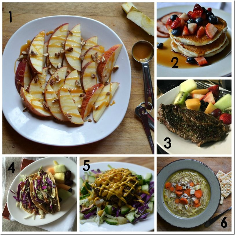 Some of my Weight Watcher Smart Point eats - with points!  Doesn't this look delicious!