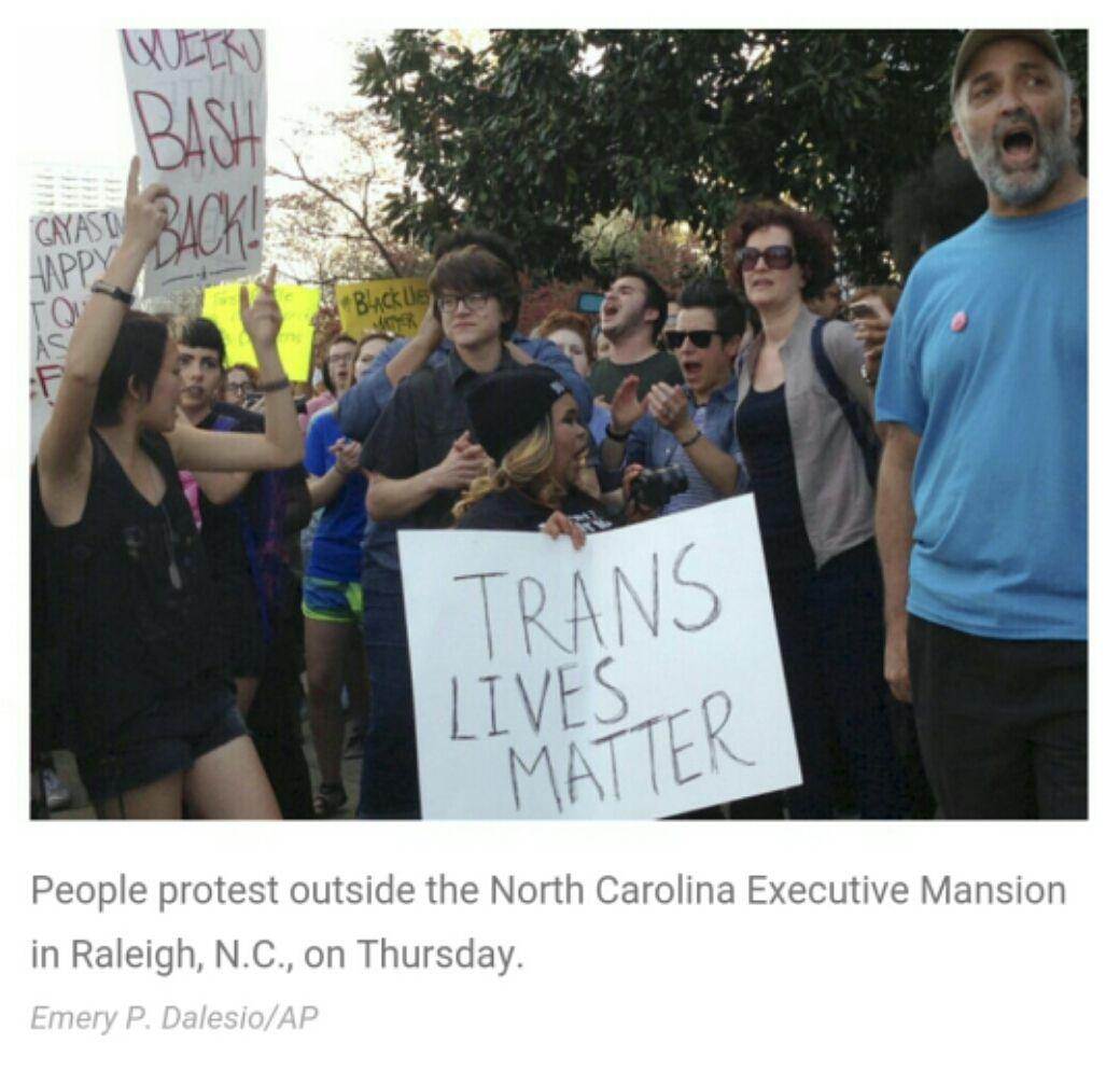 @ACLU Sues Over North Carolina's Law Blocking Anti-Discrimination Legislation http://n.pr/21PLqrQ @npr #lgbt