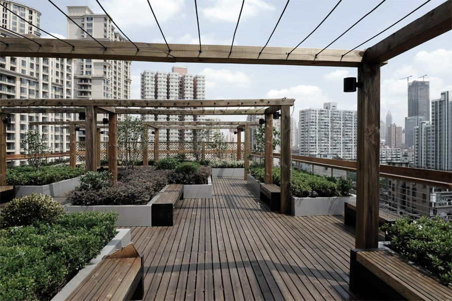 Pergola with cables pergolas pinterest p rgolas for Cobertizo de madera de jardin contemporaneo