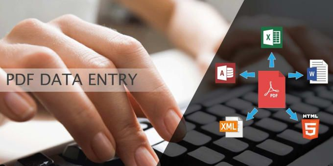 perfect data entry PDF to excel Data entry, Virtual assistant