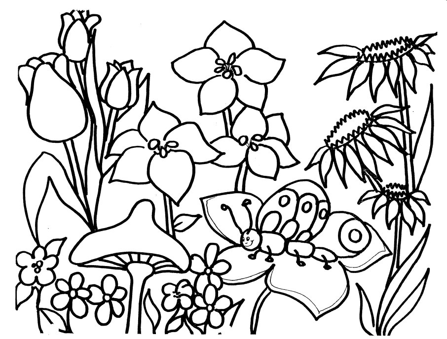 Disney Spring Coloring Pages | Coloring Page Love | Pinterest | Free ...