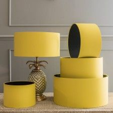 Bright yellow drum shade home yellow pinterest drum shade bright yellow drum shade aloadofball Images