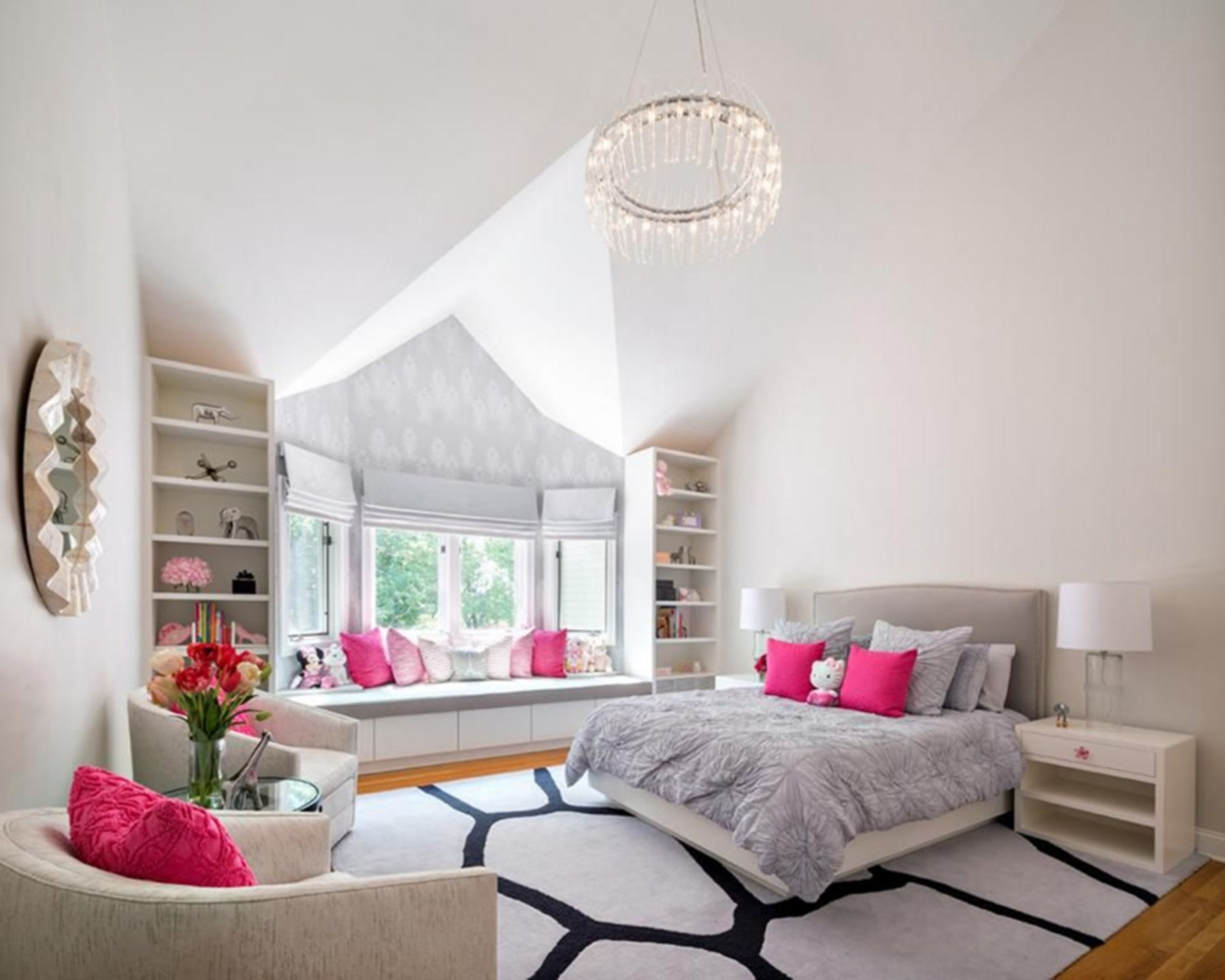 15 Beautiful Teenage Girl Bedroom Design Ideas To Make Your Teenage Girl Happy #teenagegirlbedrooms