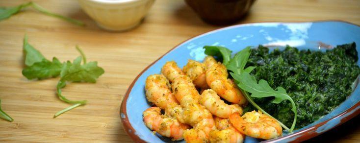 CREVETTES À LA CRÈME DE COCO ET AU CURRY ROUGE  curry shrimp