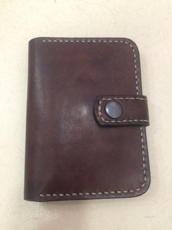 b625d70cd280 Купить Мужской кошелек - ручная работа, кожа натуральная, кожа краст ...