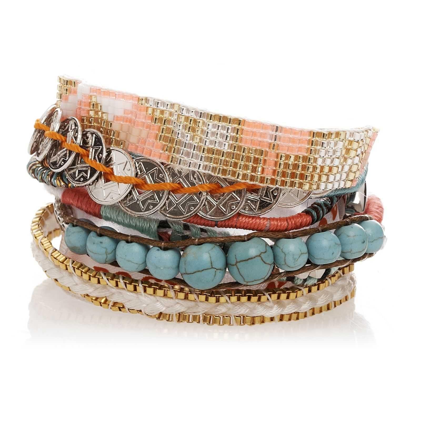 JEWELLERY - Bracelets Hipanema Cheap Affordable n620P