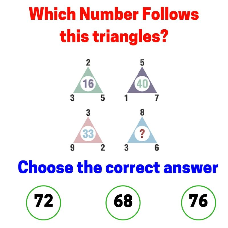 Solve This In One Minute If You Are A Genius! Which Number Follows ...