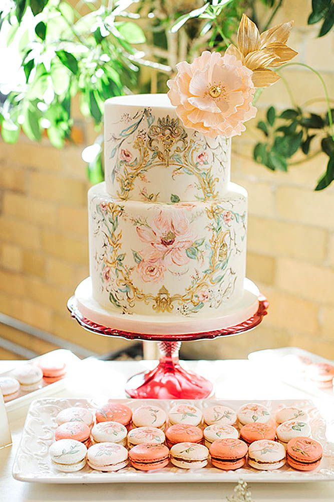 33 Exquisite Mini Wedding Cakes For Your Inspiration | Mini wedding ...