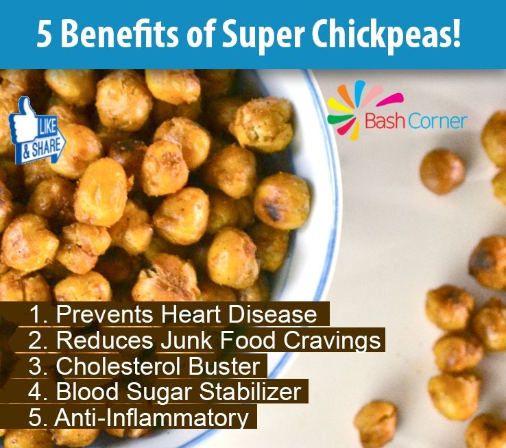 The Health Benefits Of Chickpeas Chickpea health