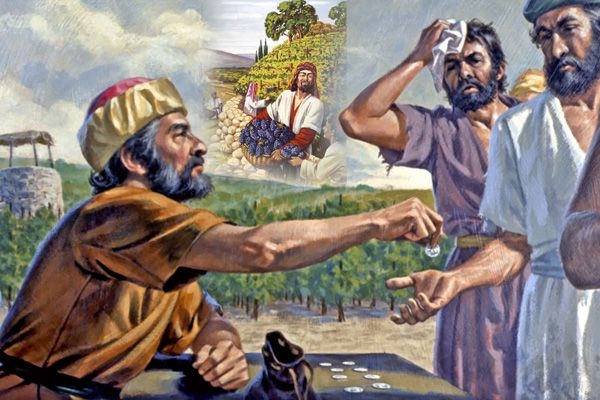 Resultado de imagen para El dueño de la viña busca trabajadores para su viña...