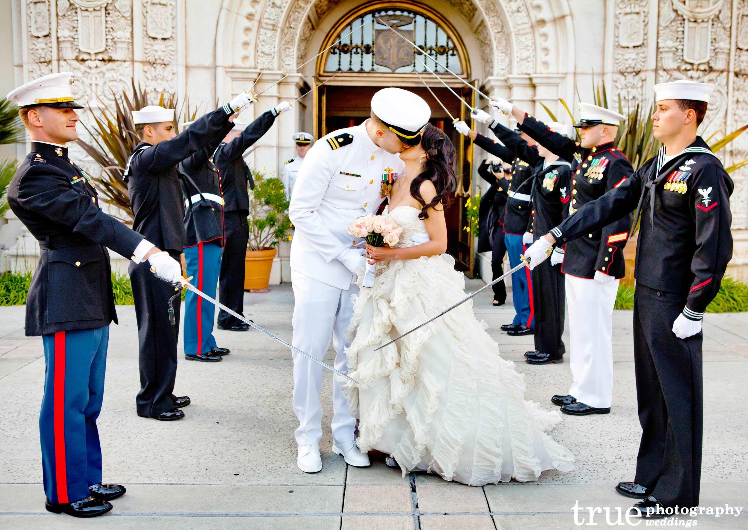 Wedding Photography Rate: San Diego Military Wedding Photography
