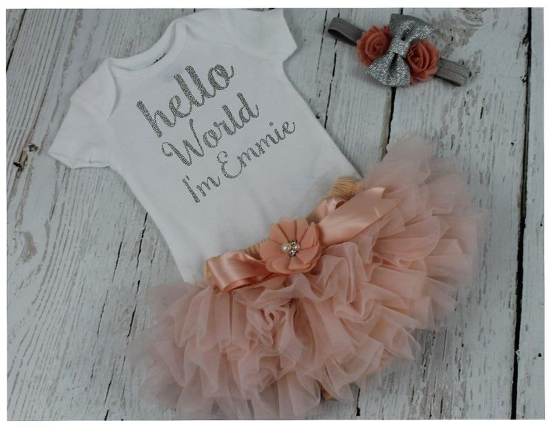 I'm going to be a big sister frilly bloomers Tutu set Girl Cute Announcement
