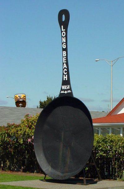 Giant Frying Pan Long Beach Washington