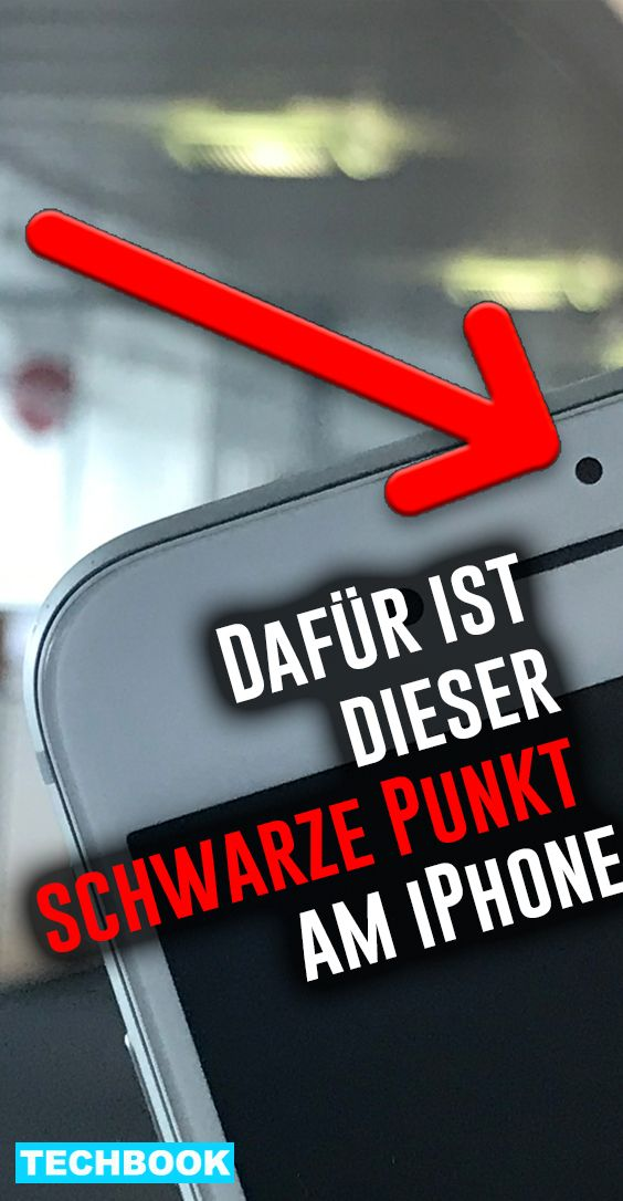 Dafur Ist Der Schwarze Punkt Uber Dem Iphone Display Iphone Display Iphone Und Iphone Ladestation