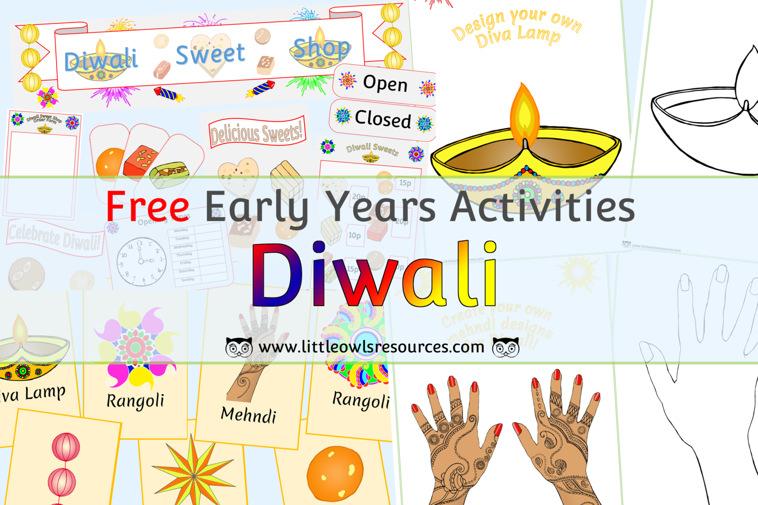 Free Diwali Printable Early Years Ey Eyfs Resources Downloads Activities Little Owls Resources Free Diwali Activities Diwali Pictures Diwali [ 1000 x 1500 Pixel ]