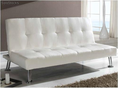Sofa cama Valencia blanco   sofa cama   Pinterest   Sofás cama, Sofá ...