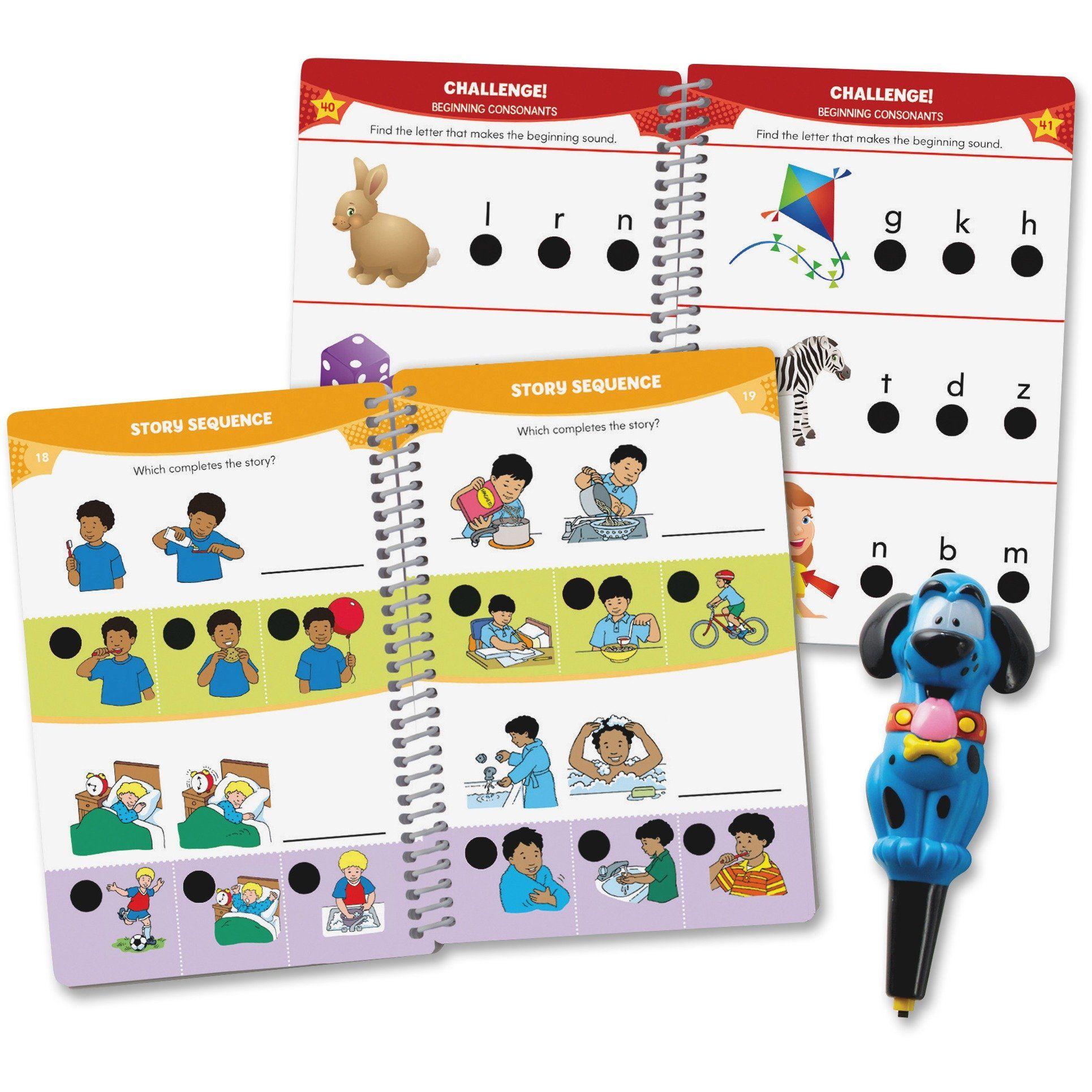 Hot Dots Jr Pre K Reading Set Interactive Education