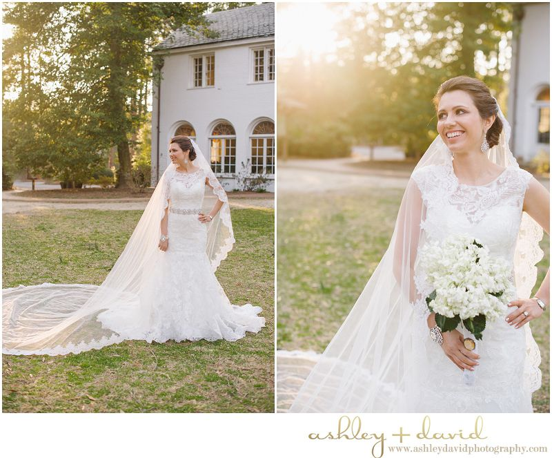 Wedding Venue The Weymouth Center Southern Pines NC Ashleydavidphotography
