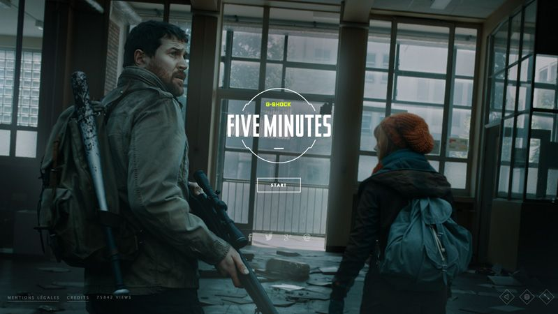 Five minutes game