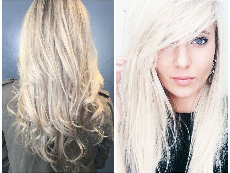 Blond polaire  la tendance cheveux à découvrir
