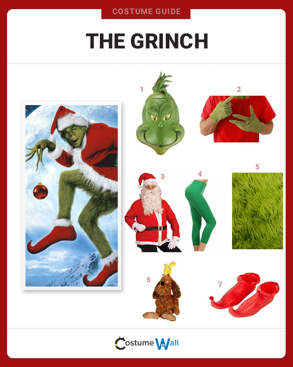 Dress Like The Grinch | Costume and Cosplay Guide | Pinterest ...