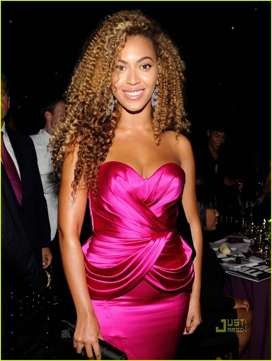 love this hair style | Pink strapless dress