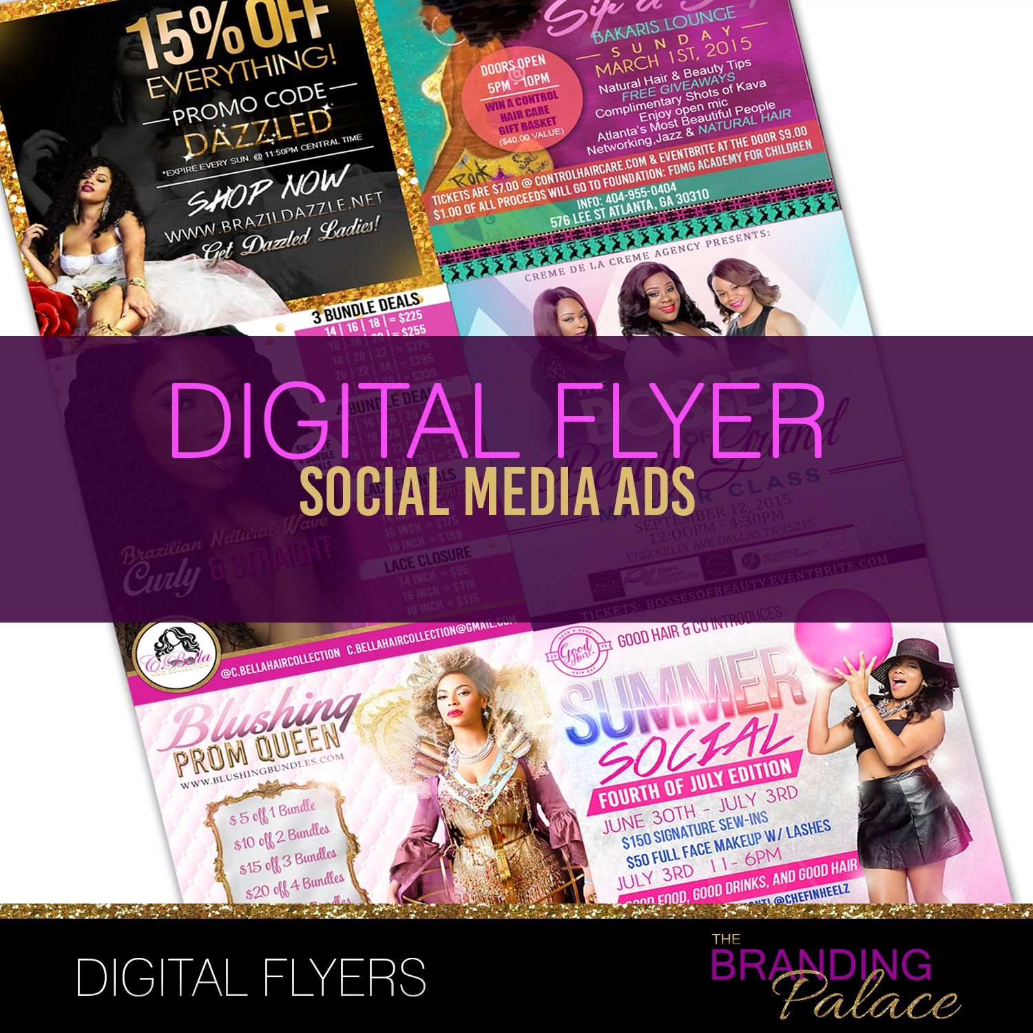 digital flyers are a must have create an eye catching flyer for