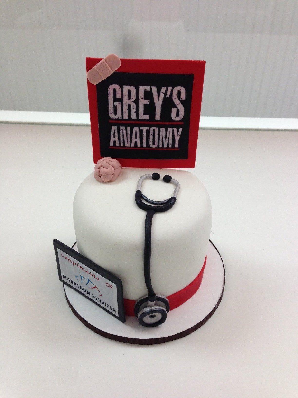 Grey\'s Anatomy Cake | Greys anatomy | Pinterest | Anatomy, Cake and ...