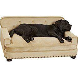 Enchanted Home Pet Ultra Plush Library Dog Sofa Bed Dog Furniture Cool Dog Beds Dog Sofa Bed